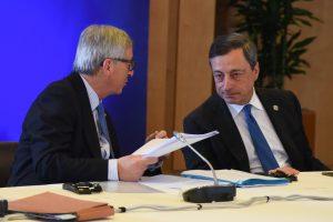 Jean-Claude Juncker, Mario Draghi