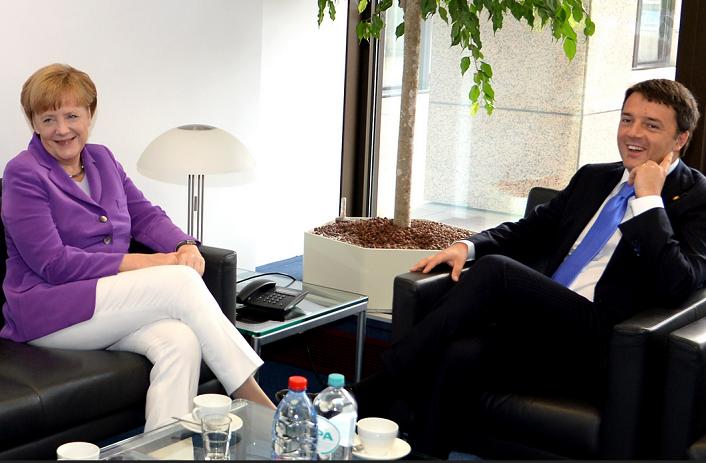 Меркел и Ренци