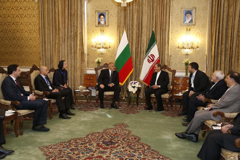 Борисов в Иран