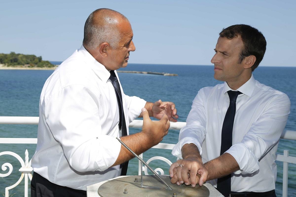 Борисов и Макрон