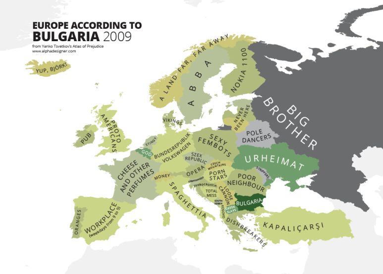Карта на стереотипите