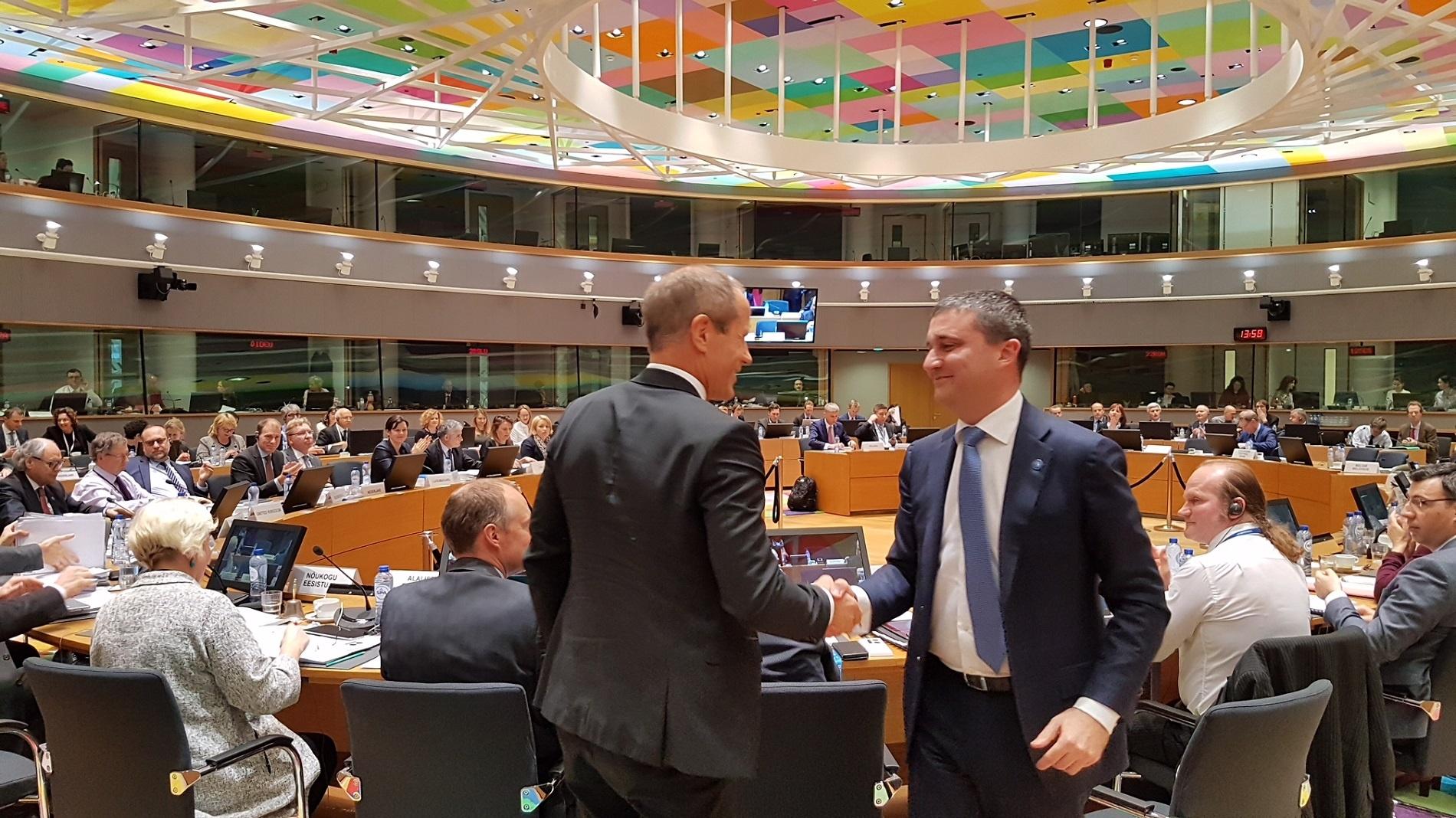 Владислав Горанов поема председателството на Ecofin