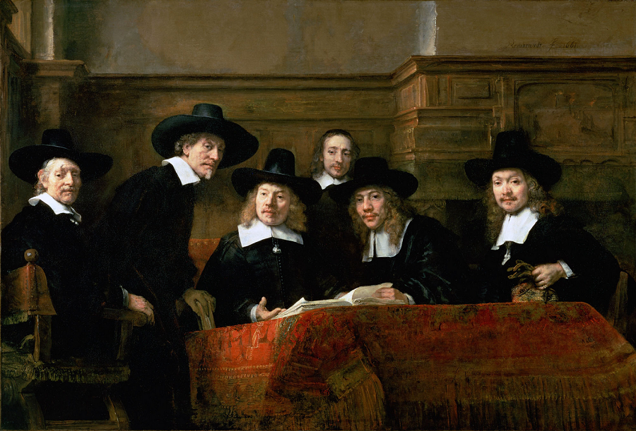 Рембранд, Текстилната гилдия