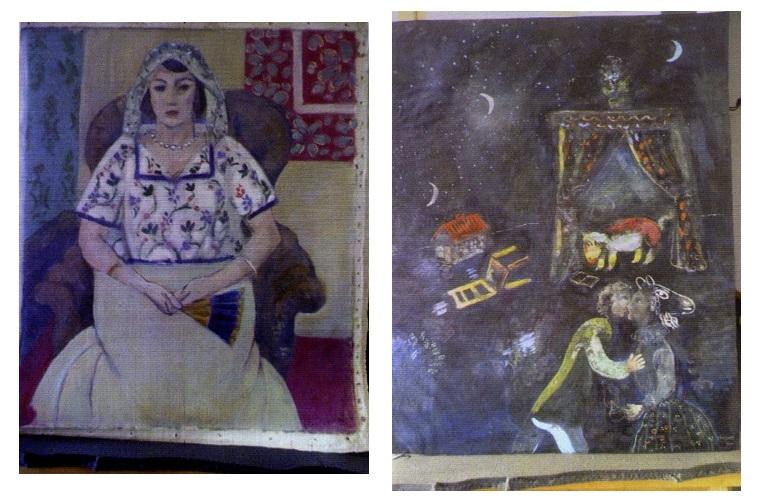 Матис и Шагал