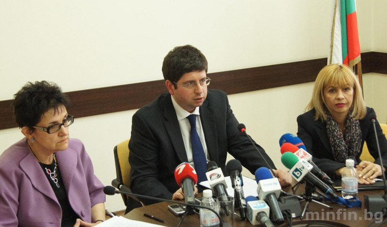 Петър Чобанов, Министерство на финансите