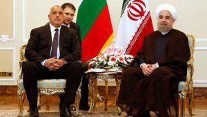 Бойко Борисов и Хасан Рухани