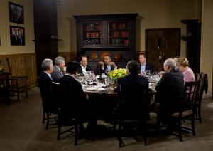 Барак Обама и лидери на ЕС