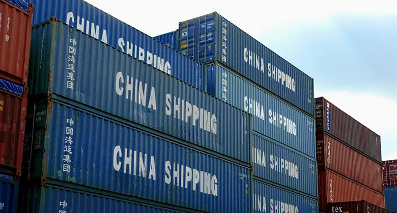 Износ, Китай