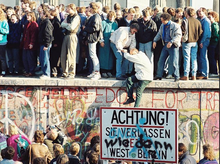 берлинска стена