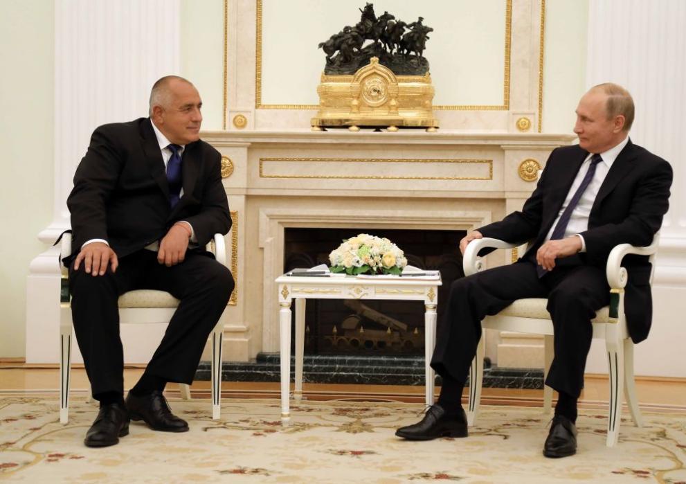 Борисов и Путин