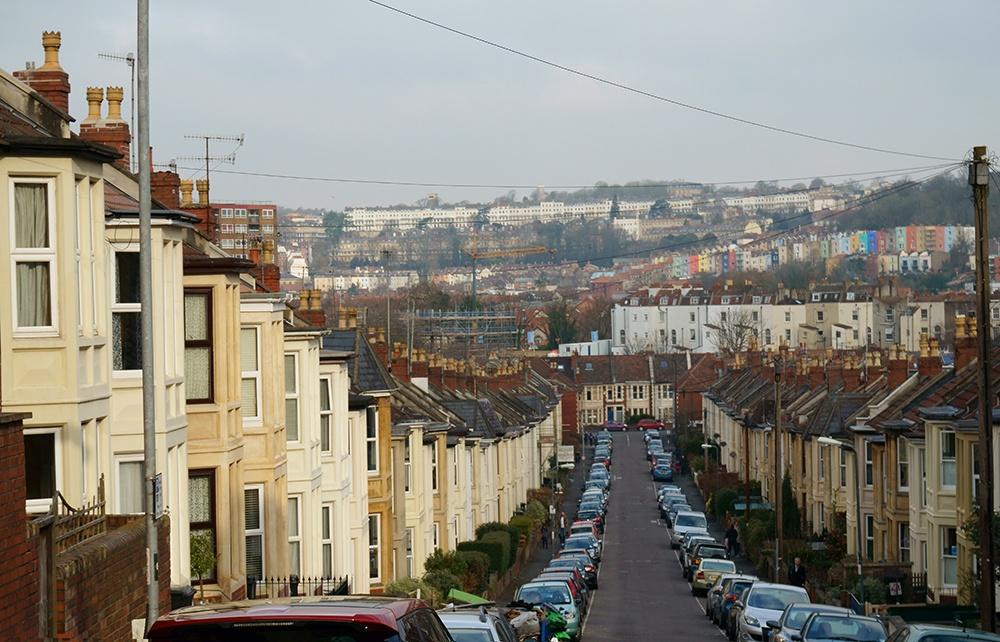 Викториански тераси в Бристол